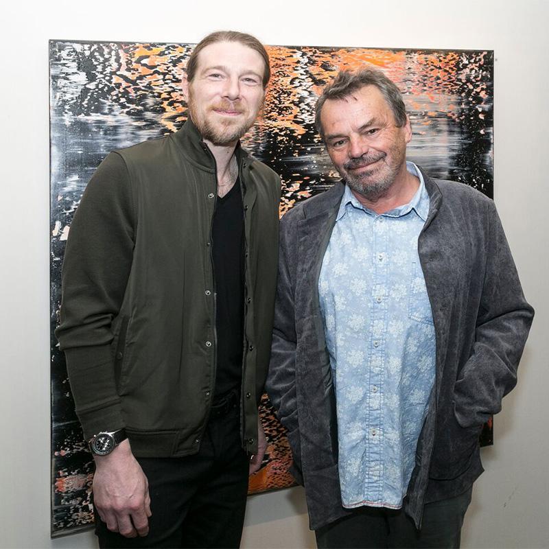 Anthony Wigglesworth and Director Neil Jordan