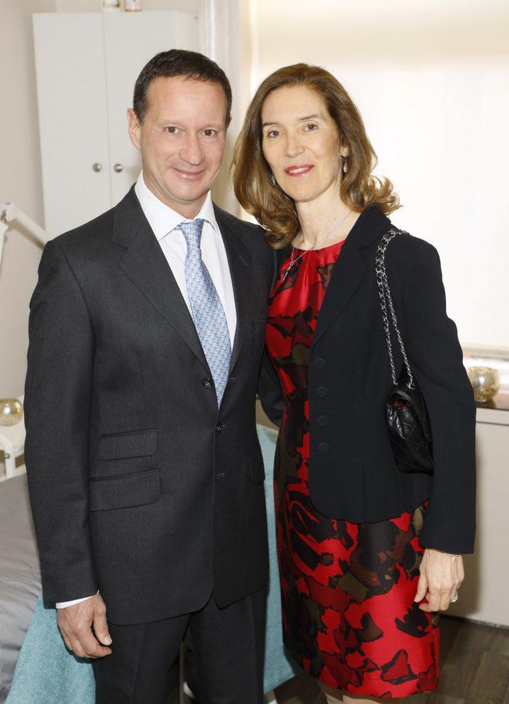 Dr Roberto and Laura Viel